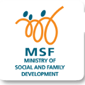 Ministry of Social & Family Development logo